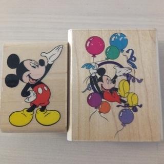 ディズニー(Disney)のミッキー ラバースタンプ  (はんこ)