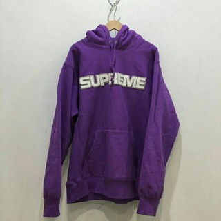 Supreme - Supreme Perforated Leather Hooded M