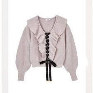 エーケービーフォーティーエイト(AKB48)のherlipto♡ Lace-Up Knit Tops(ニット/セーター)