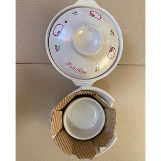 ハローキティ - ハローキティ ミニコンロ付き土鍋