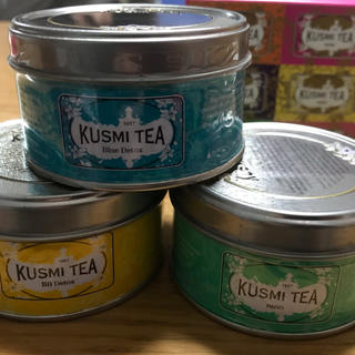 値下げ!!大人気のクスミティー デトックス25g 3缶セット❗️可愛い箱付き♡(茶)