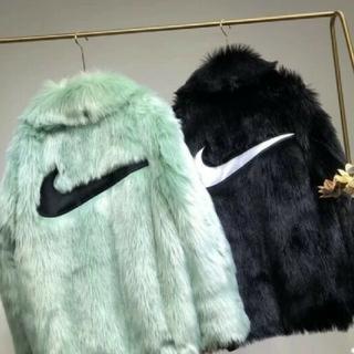 ナイキ(NIKE)の黒 Ambush×Nike Fur Coat(ブルゾン)