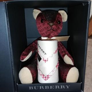 バーバリー(BURBERRY)のBURBERRY テディベア ハンカチ付き(ぬいぐるみ)