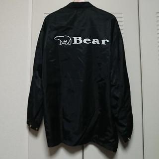 ベアー(Bear USA)のBear コーチジャケット 黒 ベアー(ナイロンジャケット)