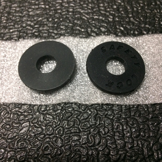 新品‼️ ギター ストラップ ロック ブロック ブラック 無地1個+ロゴ入り1個(ストラップ)