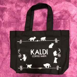 カルディ(KALDI)のネコの日バッグ カルディ 猫の日 2018 猫の日バッグ(トートバッグ)