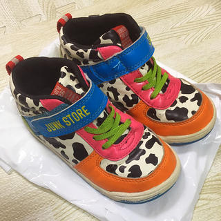 ジャンクストアー(JUNK STORE)のジャンクストア キッズ スニーカー 18 靴 (スニーカー)