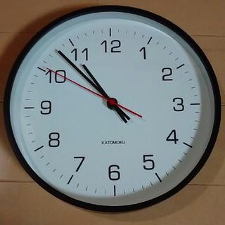 ムジルシリョウヒン(MUJI (無印良品))の電波掛時計(掛時計/柱時計)