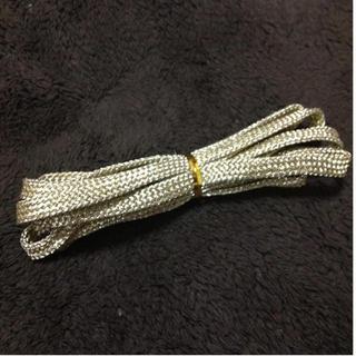 ゴールド 靴紐(スニーカー)