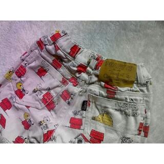 ピーナッツ(PEANUTS)の限界セール☆ヴィンテージピーナッツxF.O.KIDS☆スヌーピー総柄デニム☆(パンツ/スパッツ)