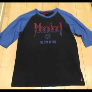 ハイドアンドシーク(HIDE AND SEEK)の●ハイドアンドシーク 半袖 Tシャツ 七分袖(Tシャツ/カットソー(七分/長袖))