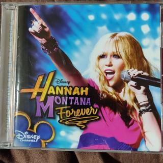 ディズニー(Disney)のハンナモンタナ フォーエバー CD(アイドルグッズ)