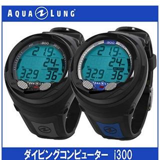 アクアラング(Aqua Lung)の【アクアラング】AQUALUNG i300 ダイブコンピューター BK(マリン/スイミング)