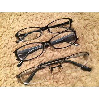 ゾフ(Zoff)の最終値下げ!ユニセックス!新品&美品*メンズ&レディースOKメガネ 3点セット(サングラス/メガネ)