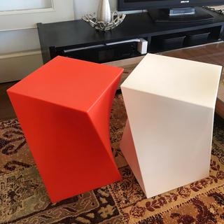 カッシーナ(Cassina)のParri KUBIK Marco MARANデザイン キューブスツール(スツール)