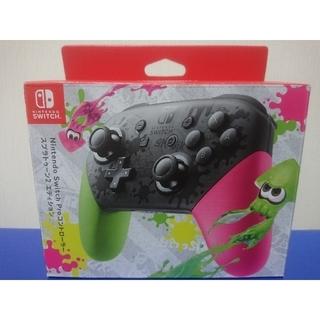 ニンテンドースイッチ(Nintendo Switch)のプロコントローラー スプラトゥーン ニンテンドースイッチ(その他)