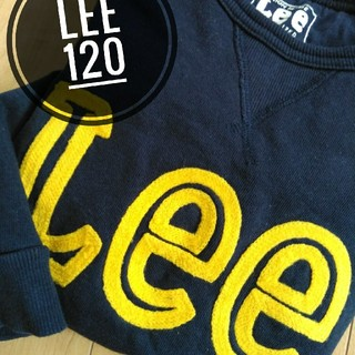 リー(Lee)の120サイズ LEE トレーナー スウェット 保育園や幼稚園に(その他)