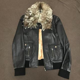 ダブルスタンダードクロージング(DOUBLE STANDARD CLOTHING)のフラガール様専用 ダブルスタンダード 二点セット(ライダースジャケット)