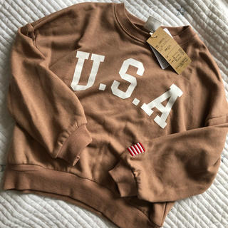 シマムラ(しまむら)のバースデイ lagkaw USAトレーナー(Tシャツ/カットソー)