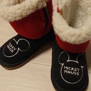 ディズニー(Disney)の新品 ミッキー キッズブーツ 14センチ(ブーツ)
