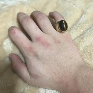 アヴァランチ(AVALANCHE)のk10 タイガーアイ リング(リング(指輪))