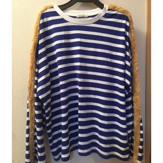 ザラ(ZARA)のZARA💛ボーダーロンT💛Mサイズ💛(Tシャツ(長袖/七分))