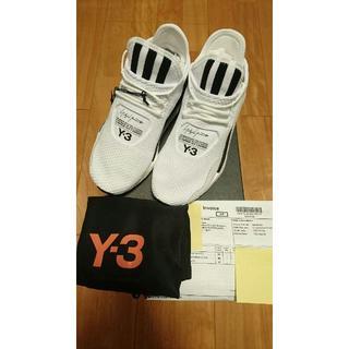 ワイスリー(Y-3)の★新品正規品 付属品完備【 Y-3】 SAIKOUスニーカー25㎝ホワイト(スニーカー)
