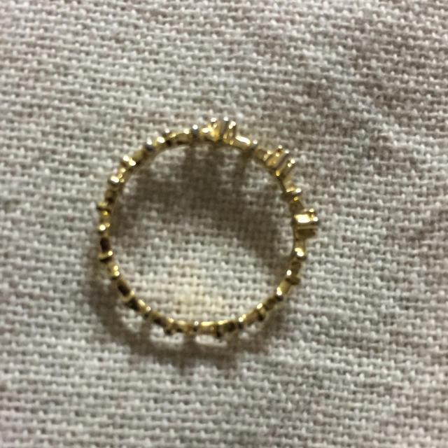 ゴールドピンキーリング レディースのアクセサリー(リング(指輪))の商品写真