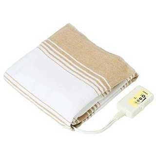 【水洗いOK】 電気毛布 敷き毛布 130×80cm(ホットカーペット)