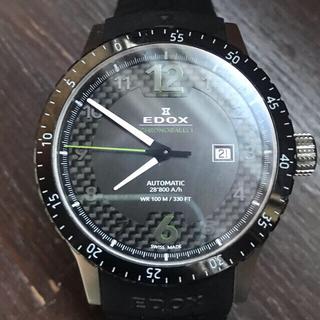 エドックス(EDOX)の大幅値下げクロノラリー1 オートマティック 80094-3N-NV(ラバーベルト)