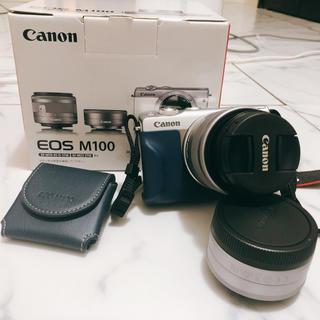 キヤノン(Canon)の【売約済み,ご連絡者様以外購入お断りいたします。】EOS M100(ミラーレス一眼)