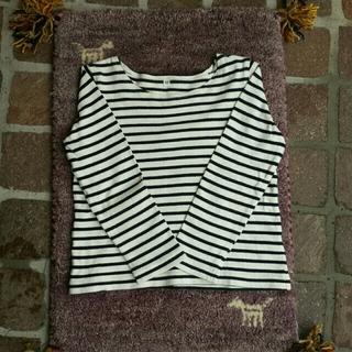 ムジルシリョウヒン(MUJI (無印良品))のボーダーT(Tシャツ(長袖/七分))