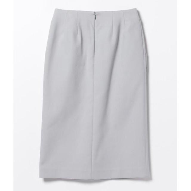 Demi-Luxe BEAMS(デミルクスビームス)のDemi-Luxe BEAMS 38(w64) ポケット付 タイトスカート   レディースのスカート(ひざ丈スカート)の商品写真