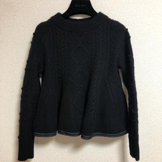 サカイラック(sacai luck)のsacai luck セーター ブラックニット (ニット/セーター)