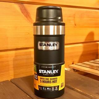 スタンレー(Stanley)のスタンレーSTANLEYクラシック真空ワンハンドマグⅡ0.35Lブラック(食器)