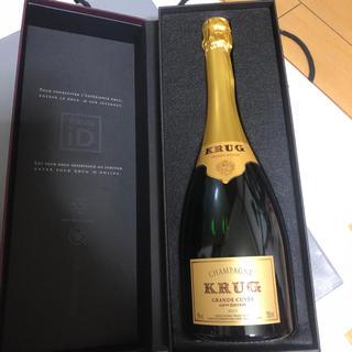 クリュッグ(Krug)の専用クリュッグ グランキュヴェ ギフト用Box箱付き(シャンパン/スパークリングワイン)