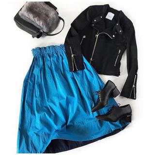 ダブルスタンダードクロージング(DOUBLE STANDARD CLOTHING)のsysorus LUGER 黒 ライダースジャケット(ライダースジャケット)