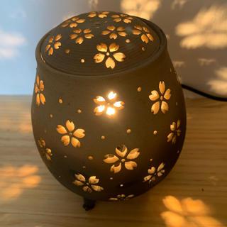 陶器ランプ  アロマ香炉(アロマポット/アロマランプ/芳香器)