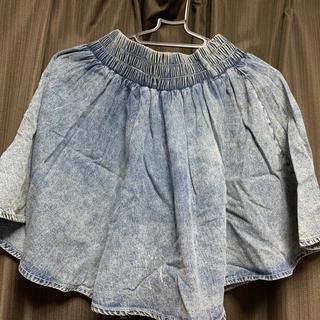 ジエンポリアム(THE EMPORIUM)のケミカルウォッシュ スカート(ミニスカート)