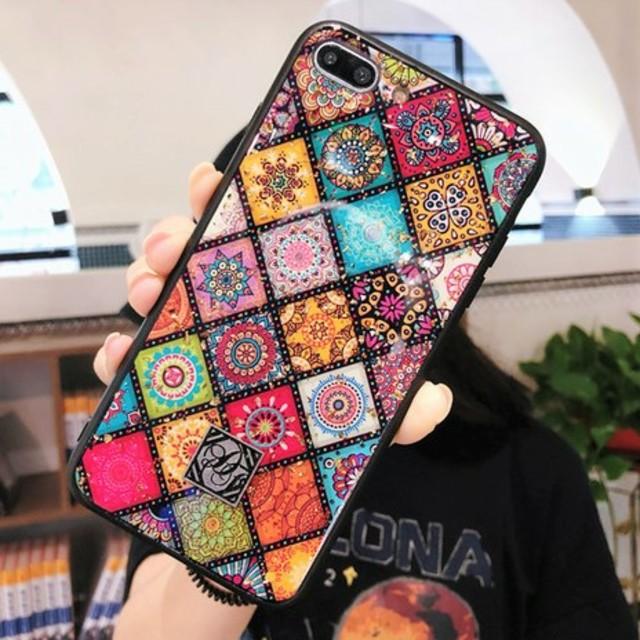 ヴィトン iphone7 カバー 本物 | ⭐ロゴマーク付⭐エスニック風iPhoneケースの通販 by すなふきん's shop|ラクマ