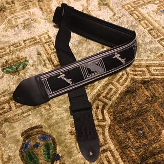 フェンダー(Fender)のフェンダー ストラップ 幅広 黒(ストラップ)