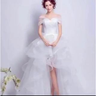 二次会用花嫁ドレス(ミニドレス)