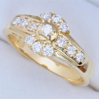 ポーラ(POLA)のK18☆ポーラ☆POLA☆ダイヤモンドリング☆7号(リング(指輪))
