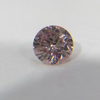 天然ピンクダイヤモンド ルース 0.062ct(リング(指輪))