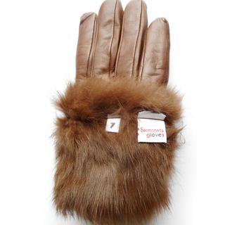 バーニーズニューヨーク(BARNEYS NEW YORK)の【新品】Sermoneta gloves グローブ(手袋)