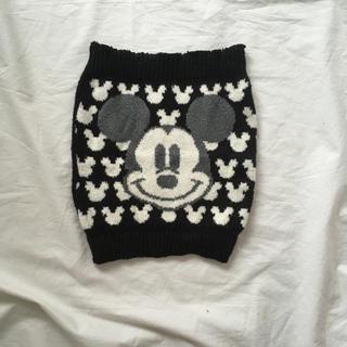 ディズニー(Disney)のミッキー 毛糸 腹巻 M〜L(アンダーシャツ/防寒インナー)