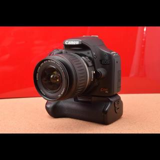 キヤノン(Canon)のCanon EOS Kiss X3 バッテリーグリップ!1-24(デジタル一眼)