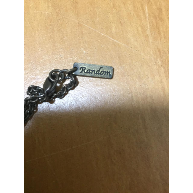 RANDOM(ランダム)のランダム スカル ドクロ クロス スワロフスキーネックレス    レディースのアクセサリー(ネックレス)の商品写真