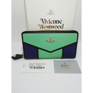 ヴィヴィアンウエストウッド(Vivienne Westwood)のヴィヴィアンウエストウッド グリーン ブルー ブラック(財布)