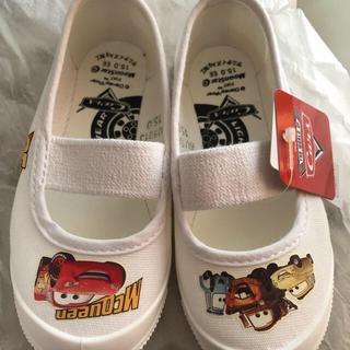 ディズニー(Disney)の上靴 カーズ 15㎝(スクールシューズ/上履き)